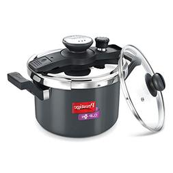 Prestige Clip On Hard Anodised Aluminum Pressure Cooker with
