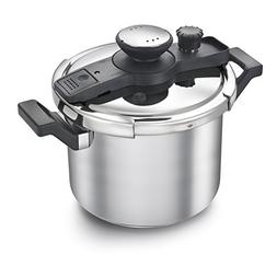 Prestige Clip-on Pressure Cooker Stainless Steel Cook And Se