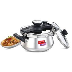 Prestige Clip On Stainless Steel Handi Pressure Cooker with