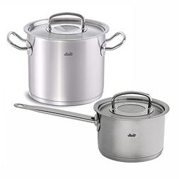 Fissler Original Pro Collection 14.8-Quart Stock Pot with 4-