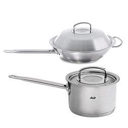 Fissler Original Pro Collection 4-Quart High Saucepan with 1