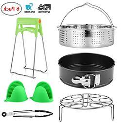 6 Pieces Accessories Compatible with Instant Pot 5,6,8 Quart