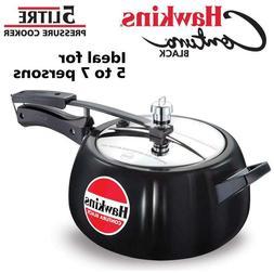 Hawkins Contura Black Pressure Cooker 5 litres-1ax