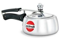 Hawkins Contura Pressure Cooker 1.5 Liter Gas top Cooker Wit