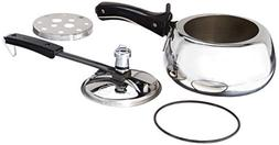 Hawkins Contura Stainless Steel 2 Liter Pressure Cooker for
