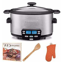 Cuisinart Cook Central MSC-600 6 quart Slow Cooker + Cookboo