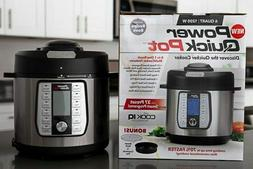 Power Quick Pot Cooker AS SEEN ON TV Pressure Cooker 8 in 1