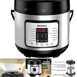 COSORI 7-in-1 Electric Pressure Cooker, Rice Cooker Stainles
