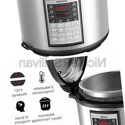 COSORI CP018-PC 8Qt 8-in-1 Electric Pressure Cooker with Ins