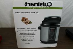 cpc 600 1000w 6qt pressure cooker brushed