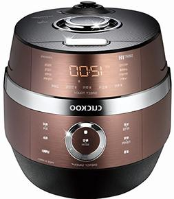CUCKOO CRP-JHSR0609F 6 Cup Stainless 4.0 Smart Induction Hea
