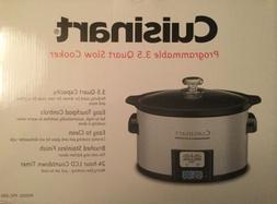 Cuisinart 3.5-Quart Programmable Stainless Steel Slow Cooker
