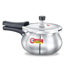 Prestige 2-Liter Deluxe Alpha Induction Base Stainless Steel