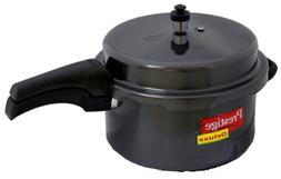 Prestige Deluxe Hard Anodized Black Color Pressure Cooker, 2