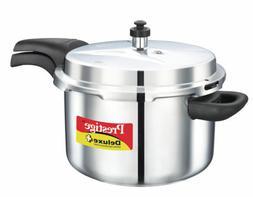 Prestige Deluxe Stainless Steel Pressure Cooker, 3 Liters
