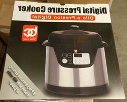 Bene Casa Digital Pressure Cooker - canning cooking food kit