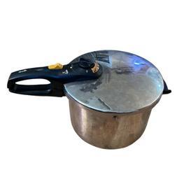 Fagor Duo 6L Pressure Cooker Plaksteel Inox 18/10 Vitro Indu