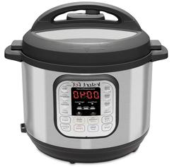 Instant Pot Duo 7-in-1 Electric Pressure Cooker, 8 Quart, 14