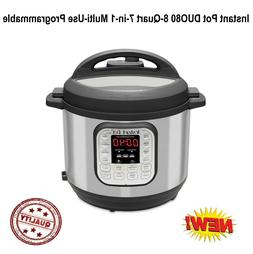 Duo 7-in-1 Electric Pressure Cooker, Slow Cooker, Rice Cooke