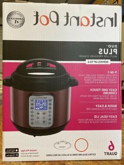 Instant Pot Duo Plus  6-quart 9-in-1 Pressure Cooker NEw In
