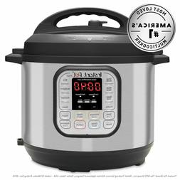 Instant Pot DUO60 6-Quart 7-in-1 Multi-Use Programmable Pres