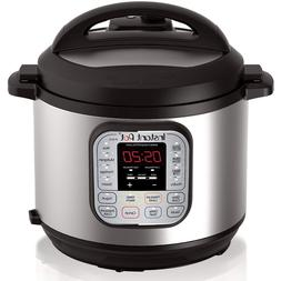 Instant Pot DUO60 6Qt 7-in-1 Multi-Use Programmable Pressure