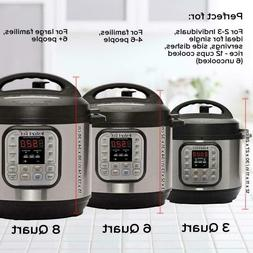 Instant Pot DUO80 3-8 Qt 7-in-1 Multi- Use Programmable Pres