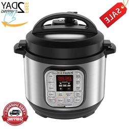 Instant Pot DUO80 8 Qt 7-in-1 Multi- Use Programmable Pressu