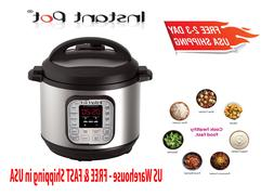 Instant Pot DUO80 8 Qt Pressure Cooker Rice, Steamer,Sauté,