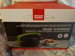 Kuhn Rikon Duromatic Micro Microwave Pressure Cooker Swiss D