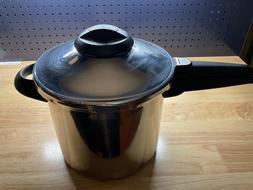Kuhn Rikon Duromatic Pressure Cooker Stainless Steel 7.0 Lit