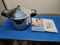 Kuhn Rikon Duromatic Pressure Cooker With Steam Tray Stainle