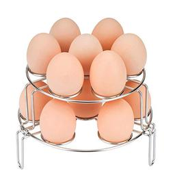 Multipurpose Egg Steamer Rack, WaterLuu Stackable Egg Steame