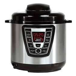 Power Cooker Digital Electric Pressure Cooker 6-Quart