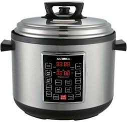 Electric Pressure Cooker 12 Qt. XL in Stainless Steel Finish