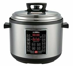 Electric Pressure Cooker Slow Cook Egg Maker Programmable 12
