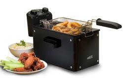 Elite 3.5 Qt. Deep Fryer with Glass Panel Exterior - 2.30 lb