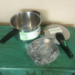 FAGOR RAPID EXPRESS 6 L Pressure Cooker Plaksteel Vitro Indu