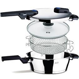 Fissler FSSFIS5850 Vitaquick FIS5850 Pressure Pan Set, 4 L,