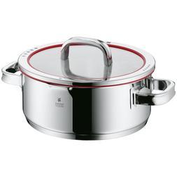 WMF Function 4 Stew Low Casserole Pot with Lid,4.3-Qt, 4.1-L