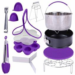 GINEVE 12-Piece Pressure Cooker Accessories Set | Compatible