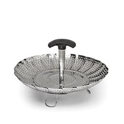 OXO Good Grips Stainless Steel Steamer with Extendable Handl