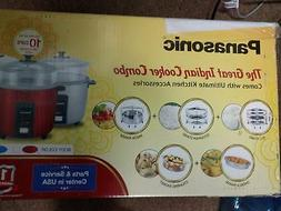 Panasonic Great Indian Cooker Combo Rice Cooker Idly Steamer