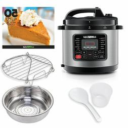 GoWISE USA GW22620 4th-Generation Electric Pressure Cooker,