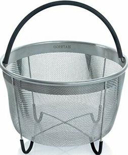 Hatrigo Instant Pot Accessories 6 qt Steamer Basket , Fits I