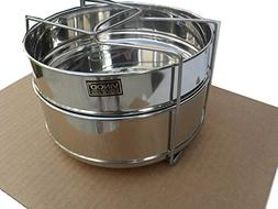 HAWKINS Stackable Steamer Insert Pans with Sling for 5/6/8 Q