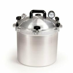 All American Heavy Cast Aluminum Pressure Canner & Cooker 21