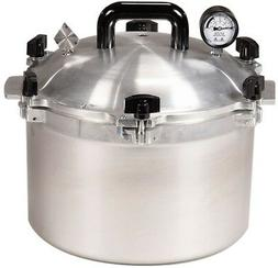All American Heavy Cast Aluminum Pressure Canner/Cooker Home