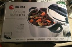 Fagor Helix Stainless Steel 6.3 Quart Pressure Cooker New