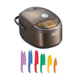 Zojirushi Induction Heating Pressure Rice Cooker  with Knife